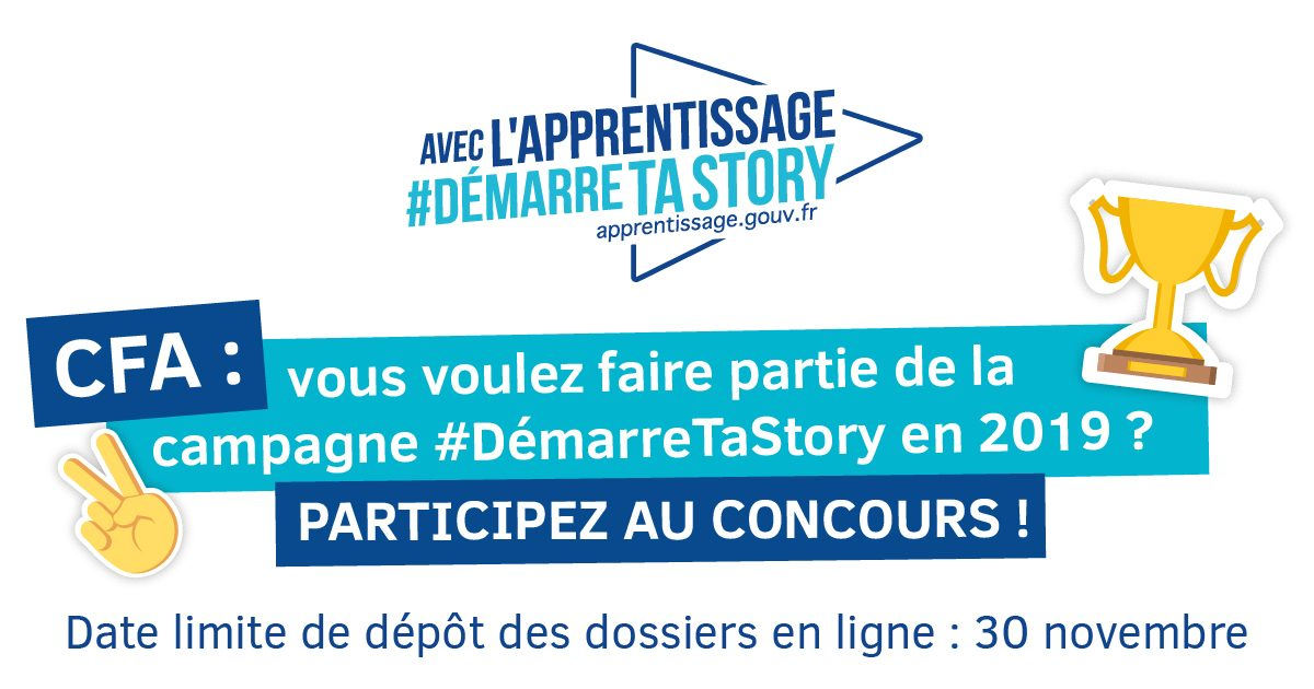 #demarretastory apprentissage